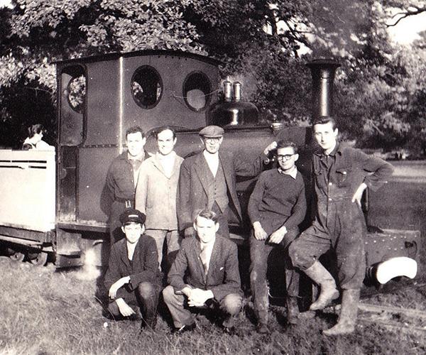 Steam Loco built by hand