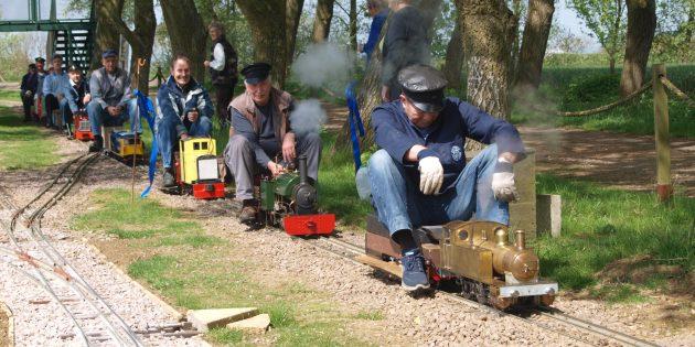 5 inch gauge steam trains