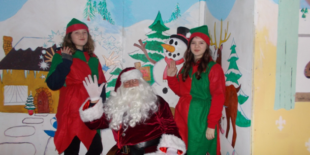 Visit with Father Christmas