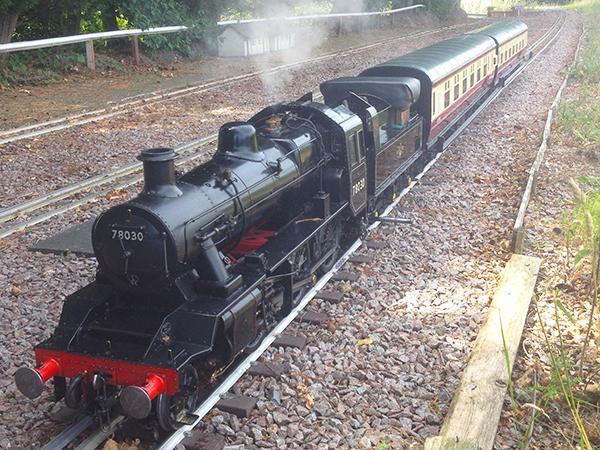Gala Day train running