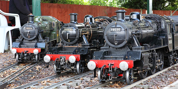 BMES Gala Day - Three Locos
